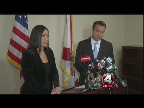 Amy Wegmann steps back into public spotlight to support embattled husband