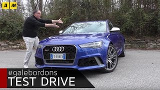 Audi RS6 | V8 4.0 605cv 700Nm DIAMO I NUMERI!!! [ENGLISH SUB]