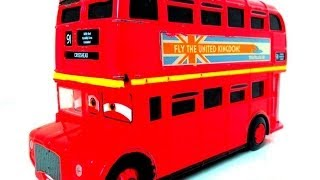Cars 2 Double Decker Bus Topper Decking  باص العاب أطفال