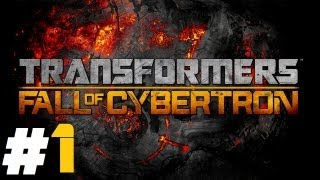 Transformers: Fall of Cybertron Pt.1 || PS3 || I Am Optimus Prime, Leader Of The Autobots