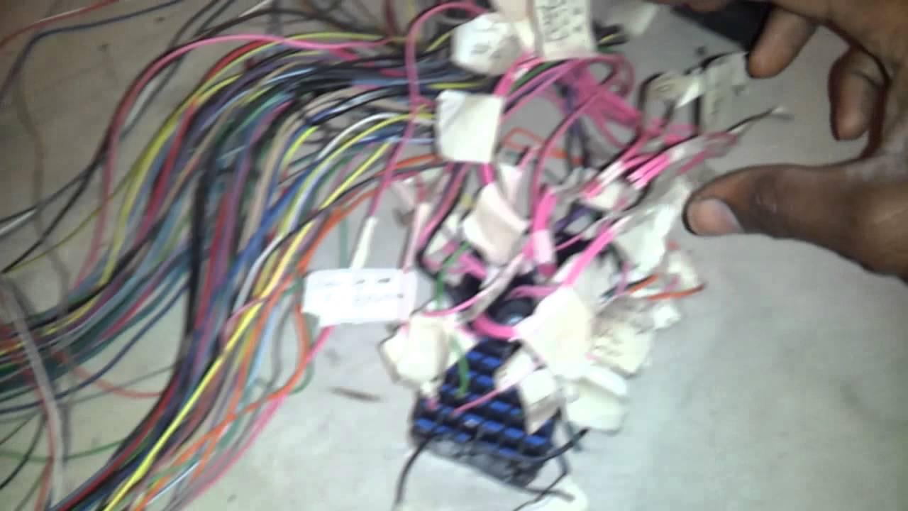 hight resolution of part 5 lsx 5 3 4l60e wiring harness ls1 vortec youtubepart 5 lsx 5 3 4l60e