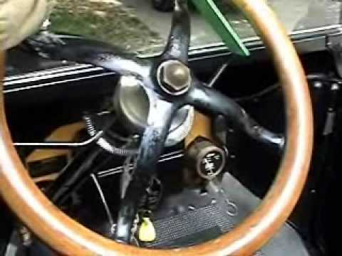 how to drive a model t ford
