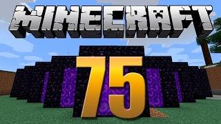 Gerador de Portais / Obsidian infinita - Minecraft Em busca da casa automática #75.