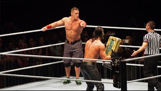 Seth Rollins vs John Cena ( Street Fight ) at Kuala Lumpur,  Malaysia WWE Live Event