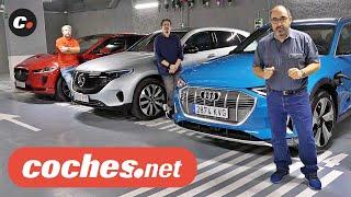 Comparativa Eléctricos: Audi e-tron, Mercedes EQC, Jaguar i-Pace 2020 SUV | Prueba | coches.net