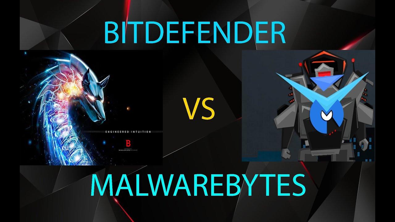 BITDEFENDER VS MALWAREBYTES , BEST ANTIVIRUS COMPARISON | 2016