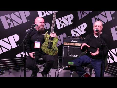 Lars Frederiksen @ ESP NAMM 2017 Interview/Q&A Part 1