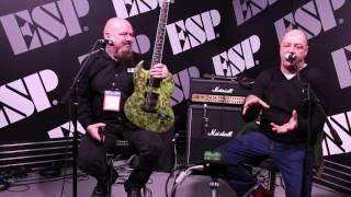 Lars Frederiksen @ ESP NAMM 2017 Interview/Q&A Part 1