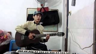 Mưa Rơi Lặng Thầm - guitar