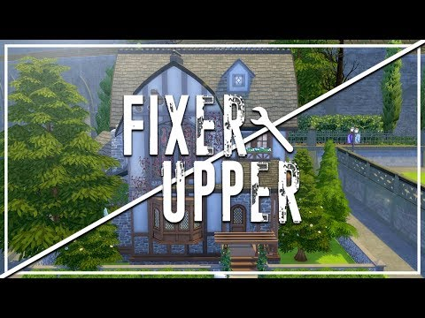 TERRIBLE TUDOR // The Sims 4: Fixer Upper - Home Renovation