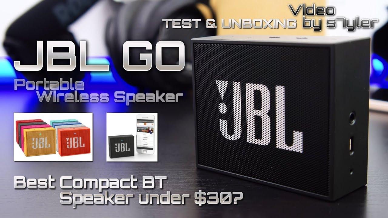 Best pact BT Speaker under $30 JBL GO Portable Wireless Speaker by s7yler