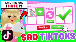 Reacting to the SADDEST Adopt Me Roblox TikToks On The Internet TRY NOT TO CRY CHALLENGE IMPOSSIBLE