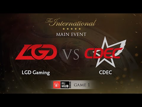 LGD -vs- CDEC, TI5 Main Event, WB Round 1, Game 1