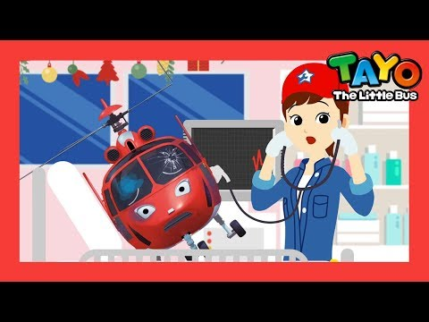 Tayo Miss Polly had a dolly with Christmas! l Nursery Rhymes l Tayo the Little Bus