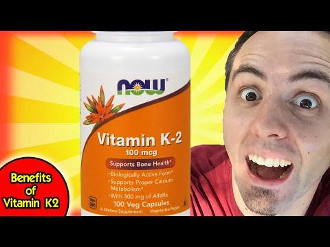 BENEFITS OF VITAMIN K | Vitamin K2 Supplements Unboxing