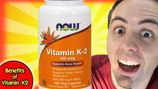 BENEFITS OF VITAMIN K   Vitamin K2 Supplements Unboxing