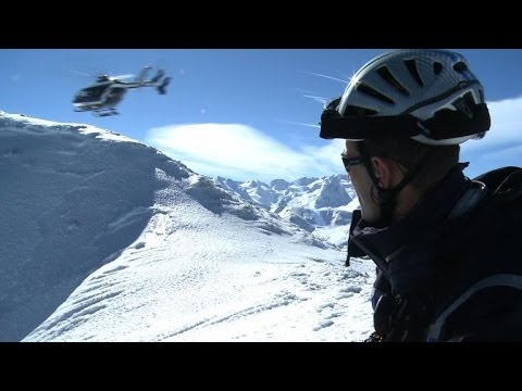 France's mountain forces brave dire conditions for rescue relief