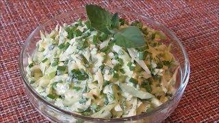 Очень нежный и вкусный Салат с капустой