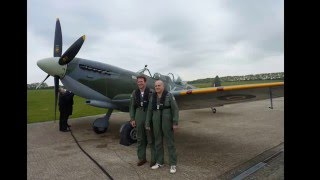 Spitfire Chichester/Goodwood Airport 8.5.2015