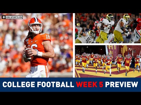 The Picks For The BEST College Football Games Of Week 5 | CBS Sports HQ