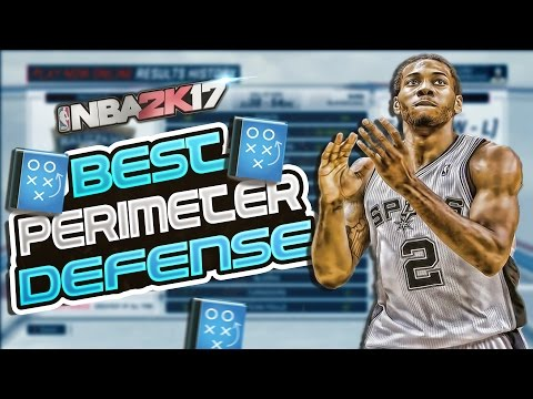 NBA 2K17 PlayNow ONLINE TIPS:PERIMETER DEFENSE TUTORIAL: 2K17 HOW TO PLAY ON BALL + OFF BALL DEFENSE