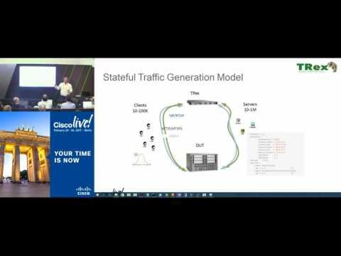 TRex   An Open Source Traffic Generator