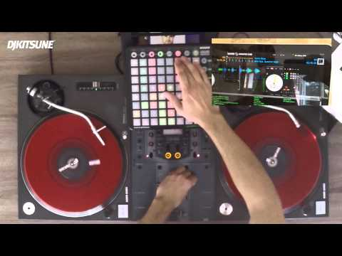 DJ KITSUNE - RED BULL THRE3STYLE GERMAN NATIONAL FINALS SET 2014