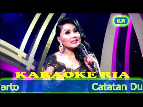 Catatan Dusta ~ Rita Sugiarto (Karaoke Dangdut Lawas)