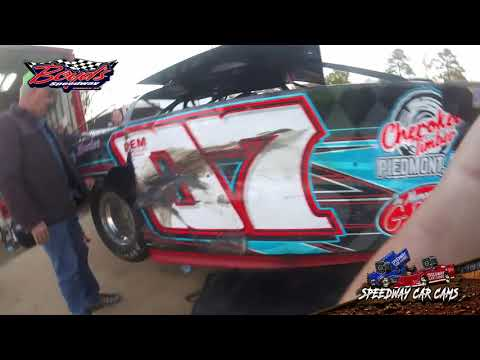 #07 Todd Morrow - Super Late Model - 11-17-19 Boyd's Speedway - In-Car Camera