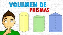 VOLUMEN DE PRISMAS Super facil