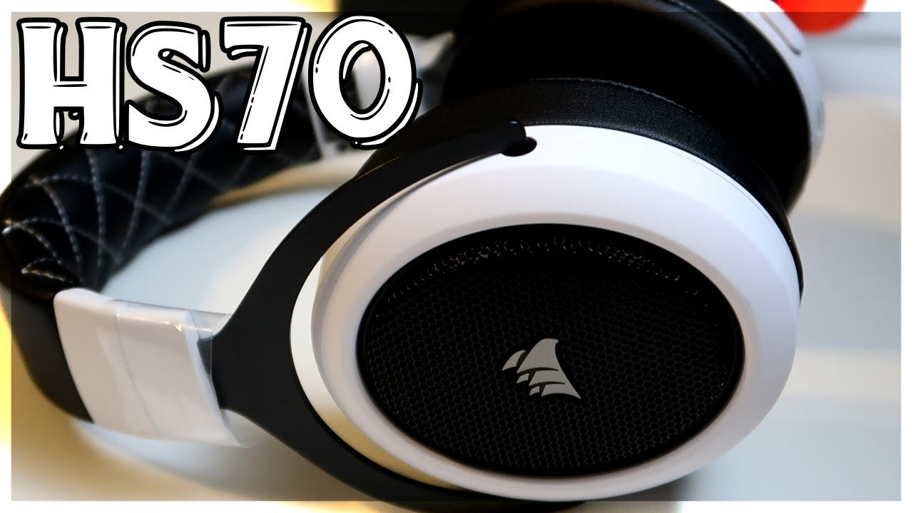 *NEW* Corsair HS70 Wireless Gaming Headset Unboxing/Review