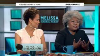 """Politics"" of Black hair  Melissa Harris-Perry"