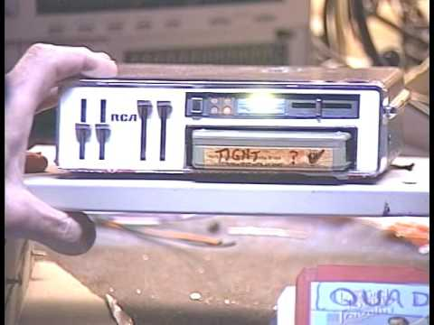 Barry's 8 Track Repair - RCA Quad 8 Track and Tape Maintenance