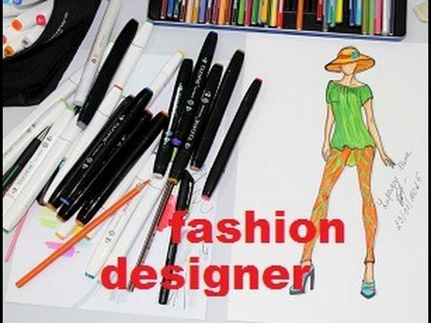 Come disegno un bozzetto di moda fashion designertouchfive for Disegni da stampare maggie e bianca