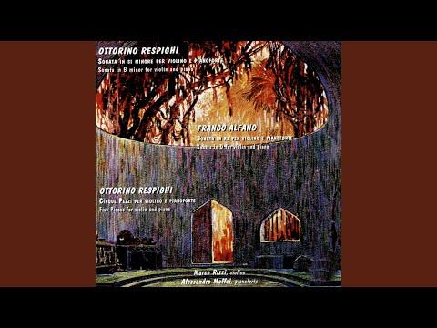 Cinque Pezzi Per Violino E Pianoforte: Berceuse (Five Pieces For Violin And Piano)