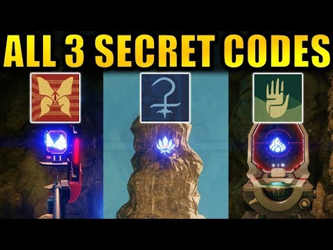 Destiny 2: ALL 3 SECRET VOLUNDR FORGE CODES! | Hidden Emblems! 4th Forge! | Black Armory thumbnail