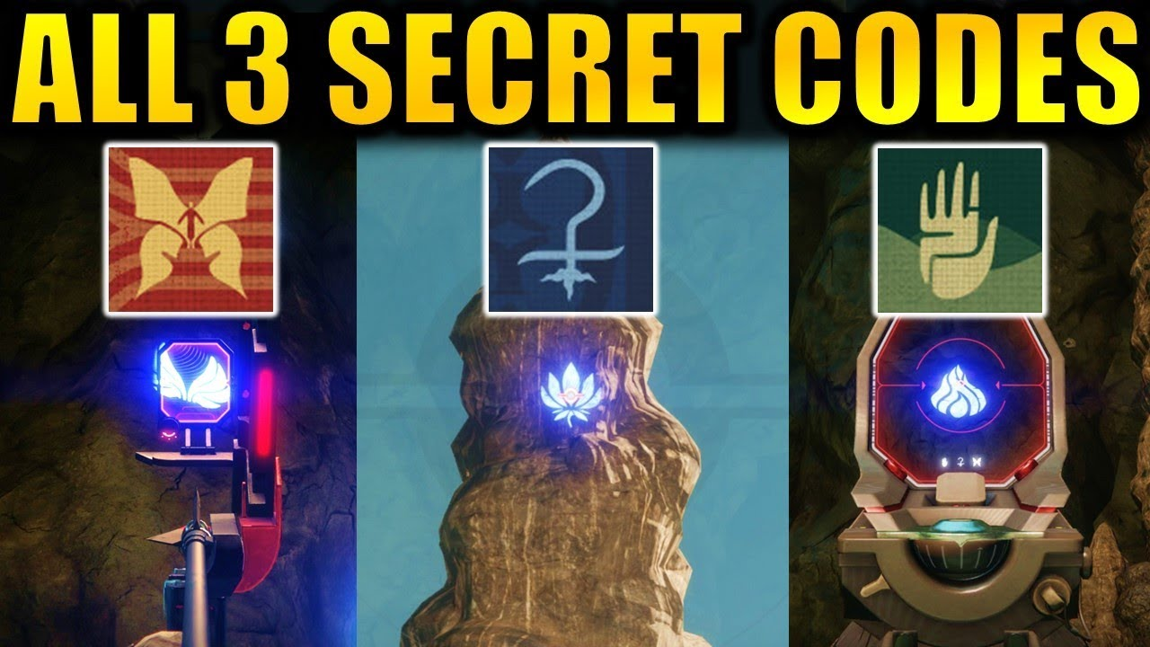 Destiny 2: ALL 3 SECRET VOLUNDR FORGE CODES! | Hidden Emblems! 4th Forge! |  Black Armory