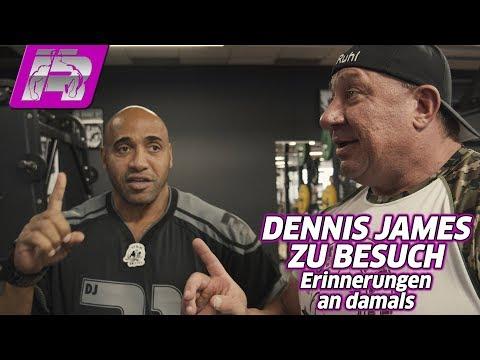 Dennis James und Markus - Training, Smalltalk und Erinnerungen