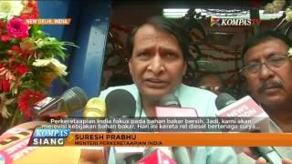 India Perkenalkan Kereta Bertenaga Matahari