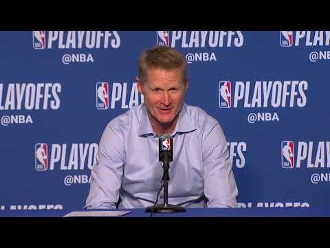 Steve Kerr Postgame Interview – Game 5 | Rockets vs Warriors | 2019 NBA Playoffs