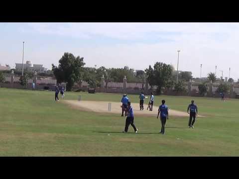 U17 UAE Academy Cricket League 2016/17 - GM Cricket Academy Vs Kricket Spero Cricket Academy