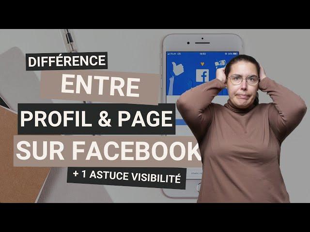 Facebook ! Différence entre profil, groupe et page + 1 astuce visibilité pour  les photographes