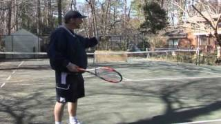 How To Play Tennis - Tennis Training: Mobile Backboard Tennis Practice!