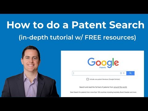 How to do a Patent Search? In-Depth Patent Search Tutorial. (FREE resources included...)