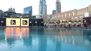 Prayer Time at Burj Khalifa Lake