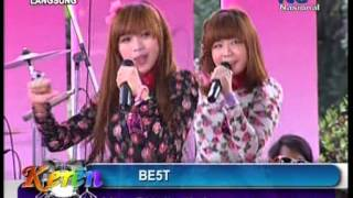BE5T Live At Keren (07-12-2012) Courtesy TVRI