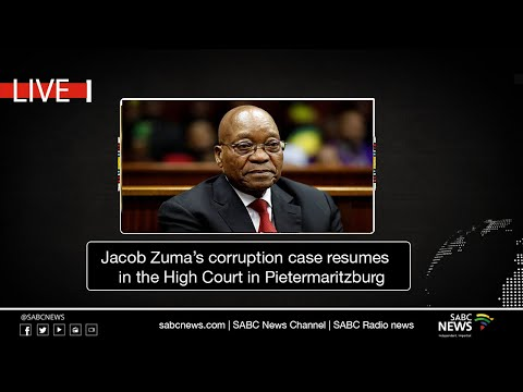 Jacob Zuma's corruption case resumes in the High Court in Pietermaritzburg