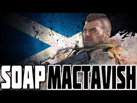 SOAP MACTAVISH - SCOTTISH GAMING HERO!