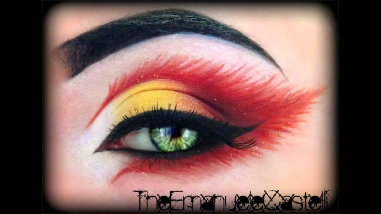 Fire Inspired Eye Makeup Pixshark