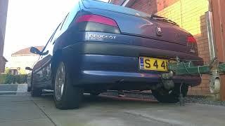 Peugeot 306 1.9TD XUD diesel cold start